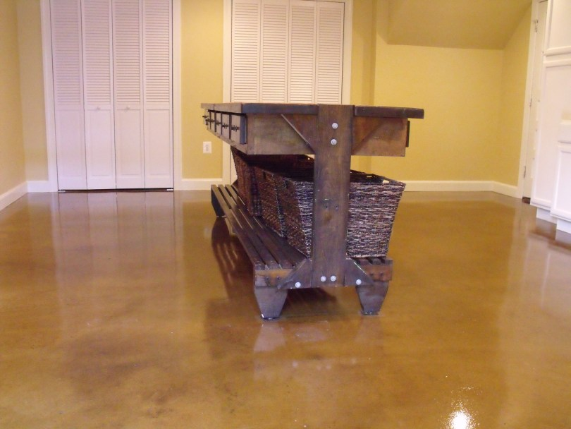 Residential Service Decorative Concrete Flooring Services