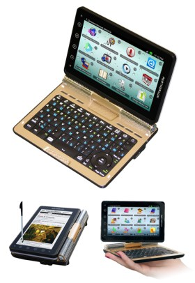 """Ectaco Now Shipping Partner Lux 5"""" Android Tablet/Convertible e-Reading Hardware"""