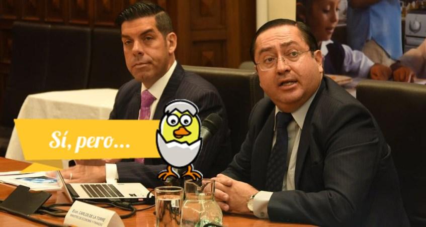 El Ministro de Economía en entrevista con Carlos Rabascal en el programa Análisis Urgente