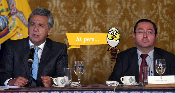 El Presidente y el Ministro de economía dieron cifras distintas sobre el tamaño de la deuda durante sus intervenciones