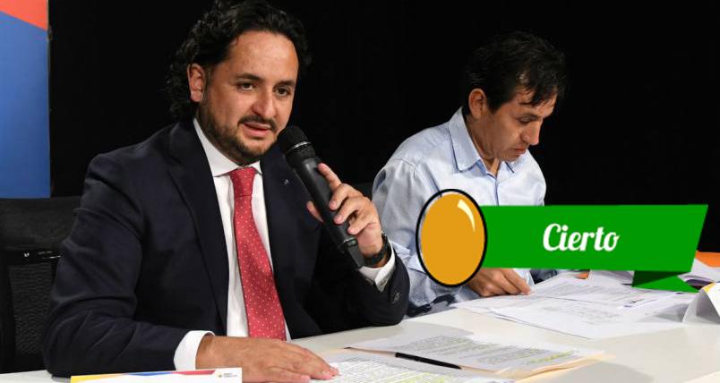 Michelena informó en rueda de prensa la situación de los medios incautados