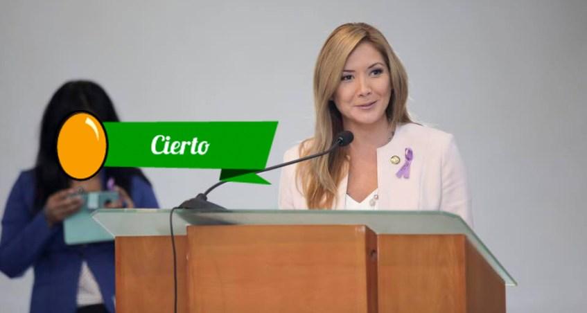 La Legisladora del PSC debate su posición en la Asamblea