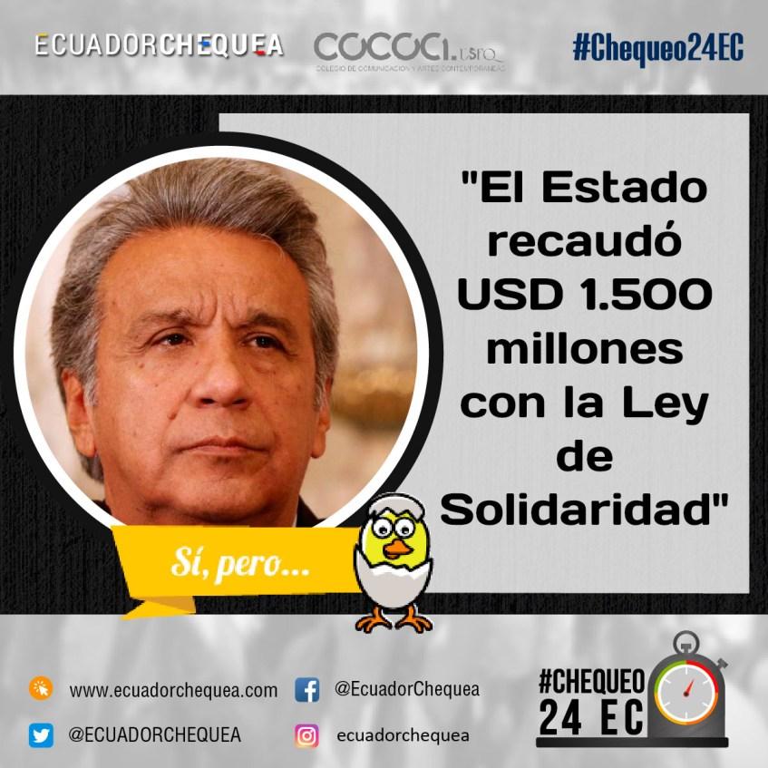 Moreno sobre la Ley de Solidaridad
