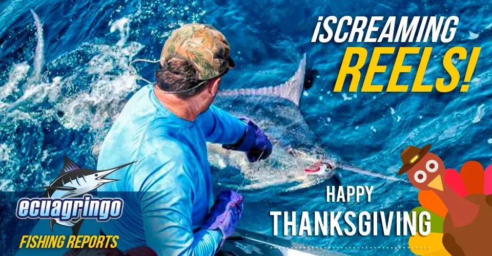 Thanksgiving Marlin & Fishing Report
