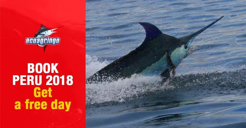 Book Cabo Blanco, Peru today for 2018 season. Get a free day of fishing!