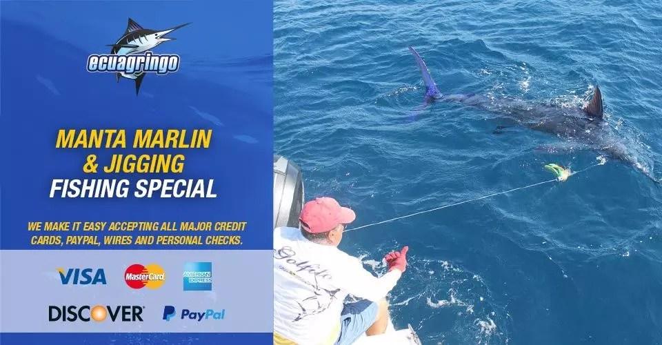Manta Marlin & Jigging Fishing Special