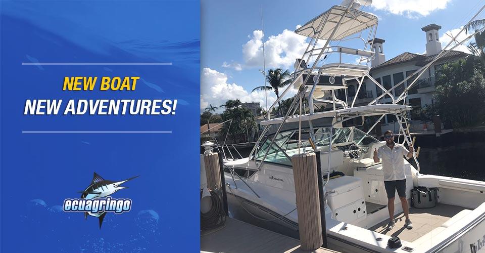 Manta-Ecuador is getting a new boat!
