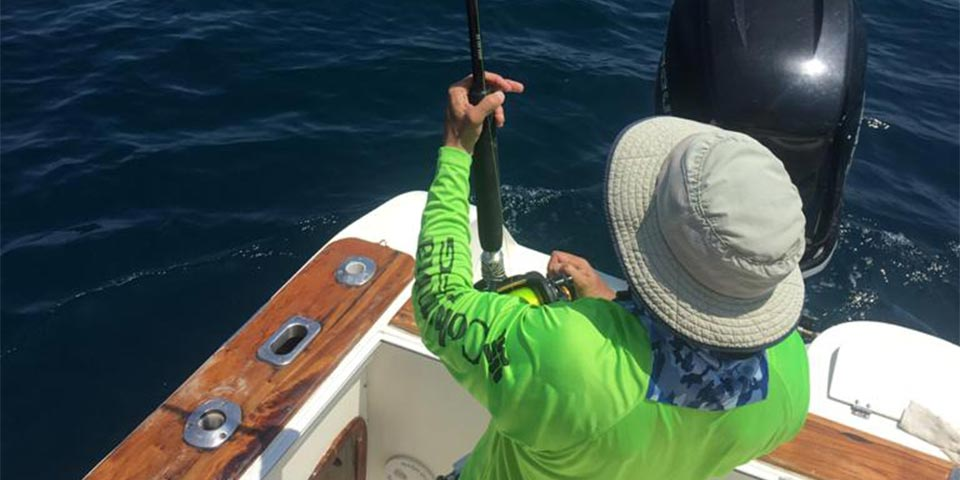 Solid marlin bite continues in March out of San Cristobal Island