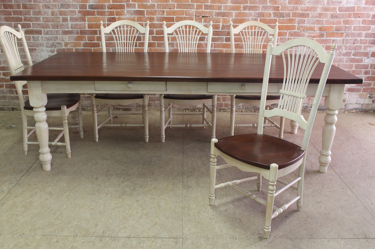Classic Farm Table Defined ECustomFinishes