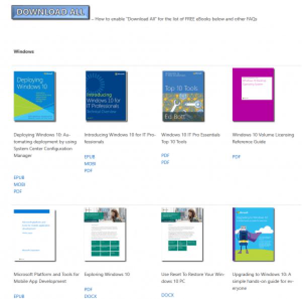 Darmowe ebooki od Microsoftu - Eric Ligman