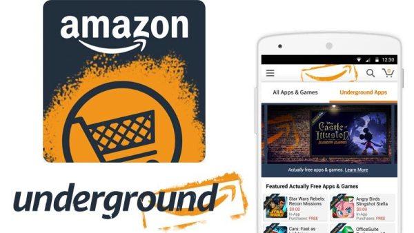 Aplikacja Amazon Underground