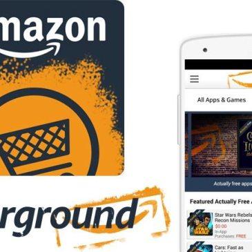 Amazon rezygnuje z rozwoju aplikacji Amazon Underground