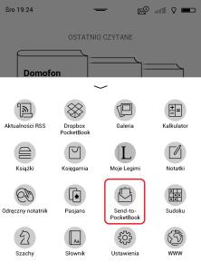 Gdzie znajdę usługę Send-to-PocketBook 4