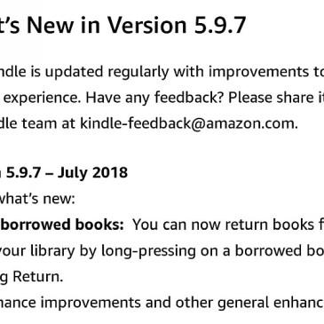 Aktualizacja firmware 5.9.7 dla Kindle