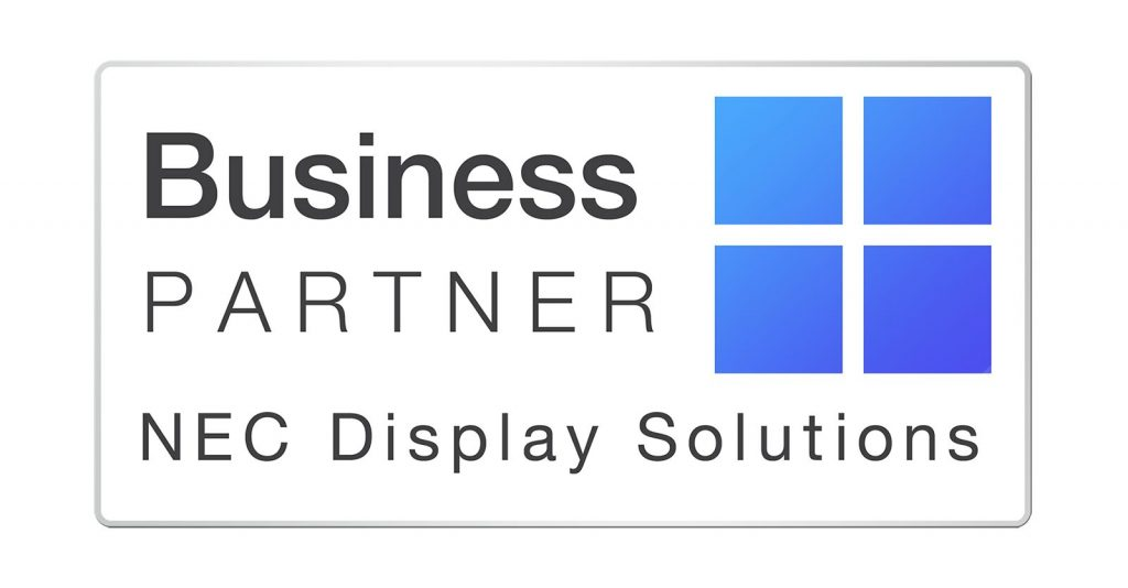 Business Partner NEC display solutions