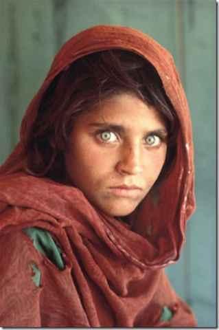 - Niña afgana