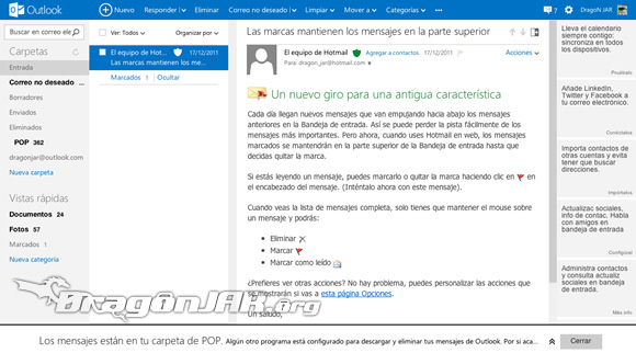 Hotmail Hotmail.com ahora es Outlook.com