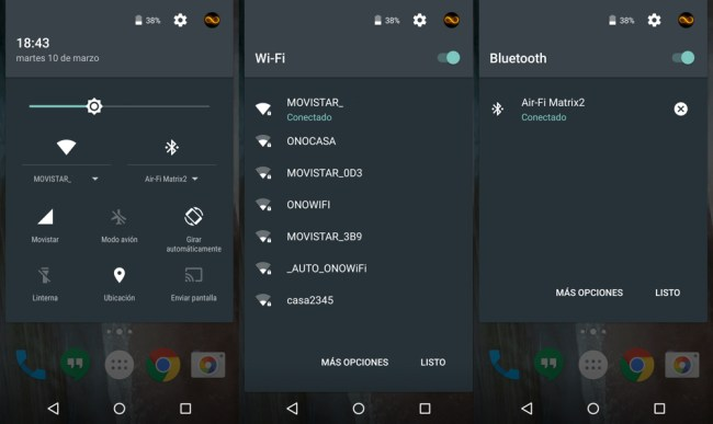 android51 ajustes