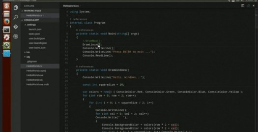 visual studio code ubuntu