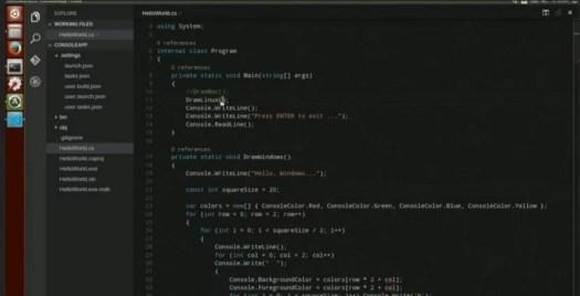 visual studio code ubuntu