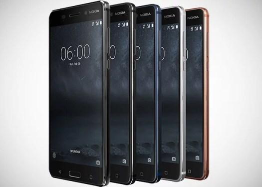 Nokia 6 global frontal
