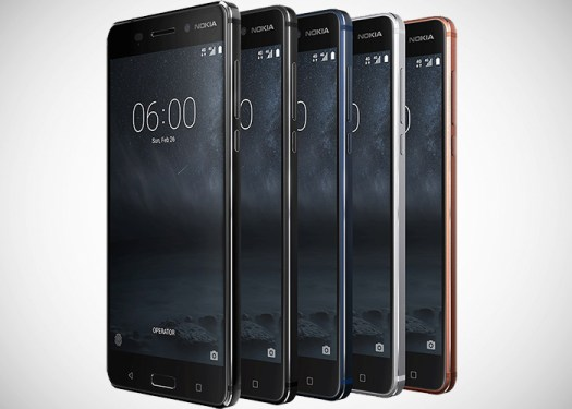 Nokia 6 global frontal
