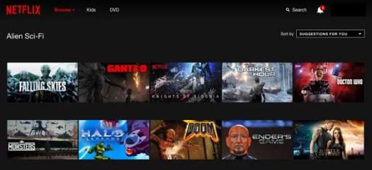 11 trucos Netflix categorías ocultas