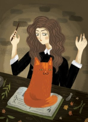 hermionewithcat