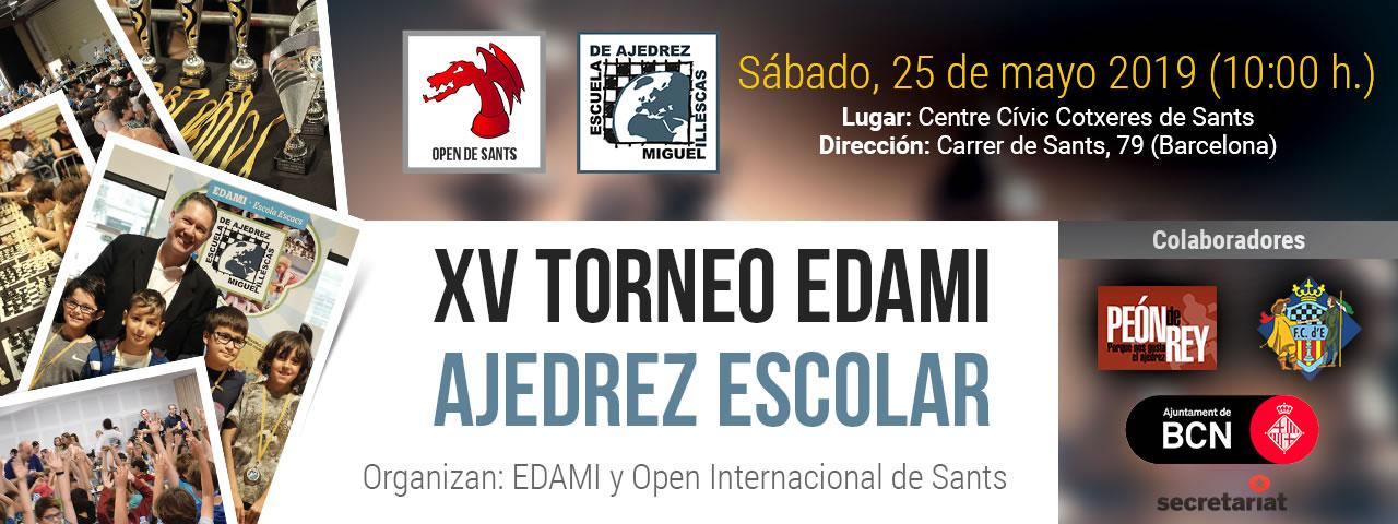Flyer XV torneo EDAMI