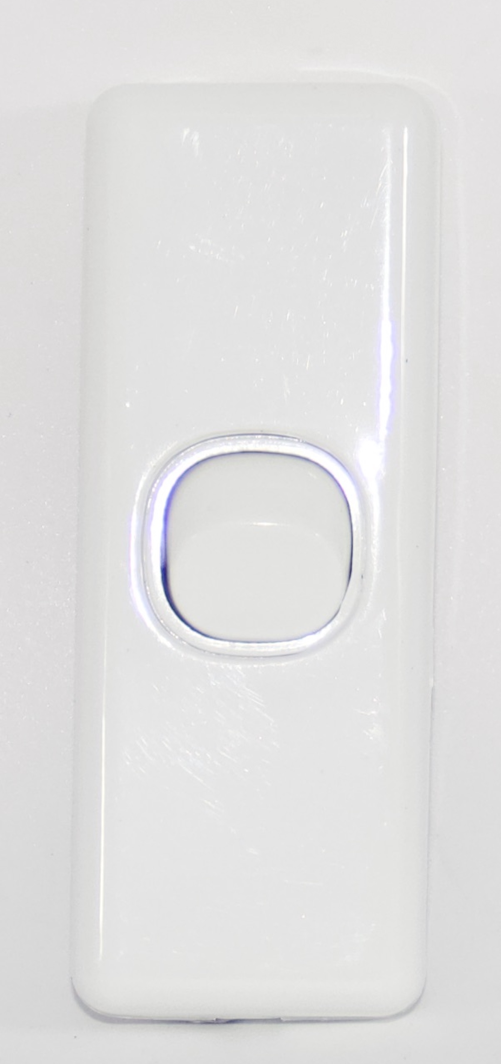 1 Gang Architrave Light Switch Single White Electrical