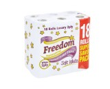 Freedom T/Tissue 18 Pack White 2Ply 2X18Pcs