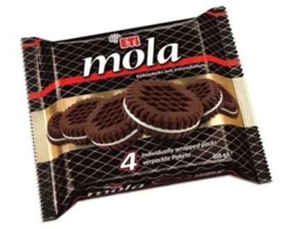 1139701 Eti Mola Cocoa Sandwich 4x24X91Gr
