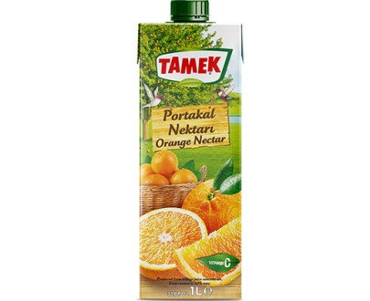 Tamek Juice 12X1Lt Orange Nectar