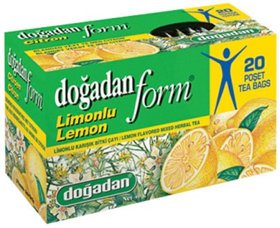 Dogadan Tea Form Lemon 12X20