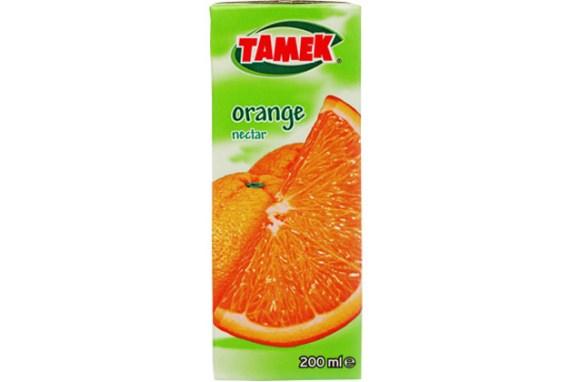 Tamek Juice Tp 27X200Ml Orange Nectar