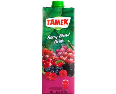 Tamek Juice 12X1Lt Berry Mix Drink