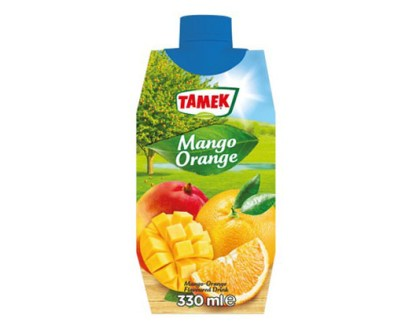 Tamek Juice Tp 12X330Ml Mango & Orange Drink