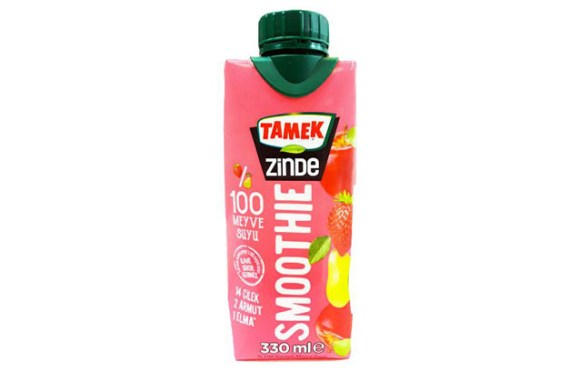 Tamek Smoothie Apple-Pear-Strawberry 12X330Ml