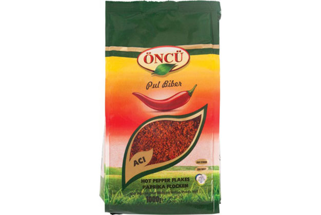 Oncu Hot Pepper Flakes 10X1Kg