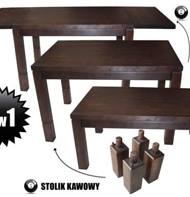 stół dwa w jednym