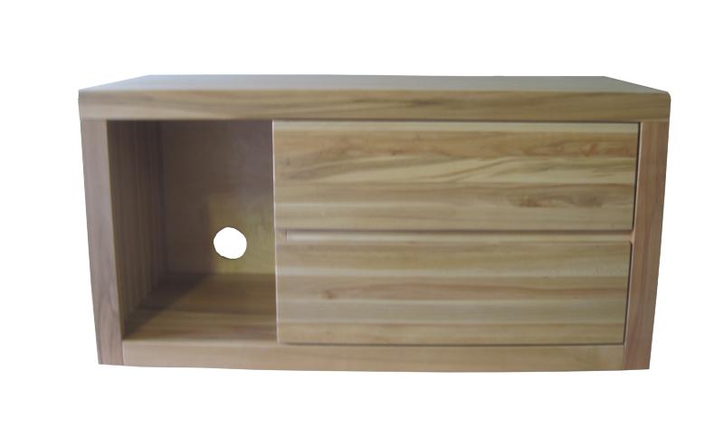 komoda z twardzielowego drewna bukowego