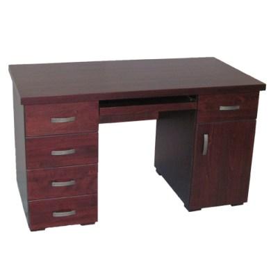 klasyczne biurko drewniane