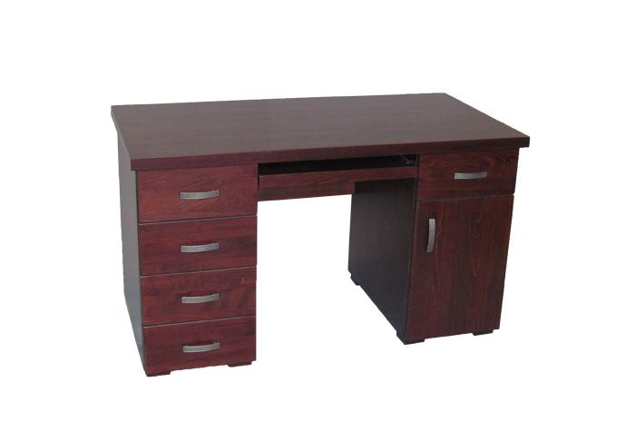 solidne biurko z drewna bukowego