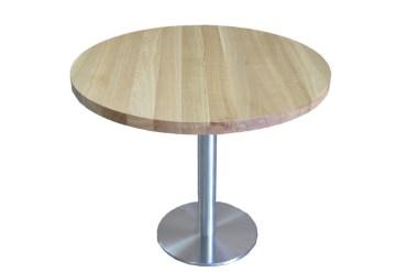 stolik z litego drewna dębwego