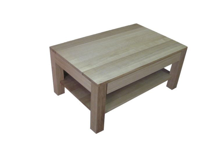 stolik z litego drewna
