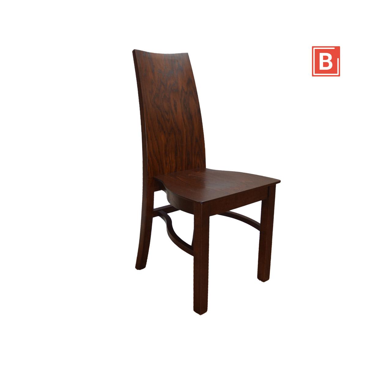 krzesło sztaplowane debowe