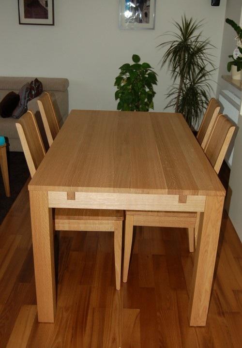 meble dębowe, stół dębowy, krzesła dębowe, meble dębowe
