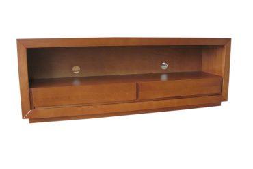 szafka pod telewizor z drewna