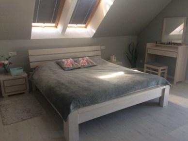 sypialnia z łóżkiem kl8