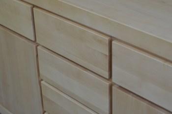 komoda queen drewno bukowe naturalne